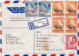Postal History Cover. Kenya Uganda And Tanganyika Cover - Kenya, Uganda & Tanganyika