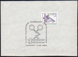 Polen 1983 Sonderstempel Briefstück / Piece ;  POZNAN 1   Internationales Histochemisches Symposium (Gewebslehre) - Medicina
