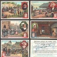 Liebig - Vintage Chromos - Series Of 6 / Série Complète - Au Pays Breton - Français - Bretagne - Liebig