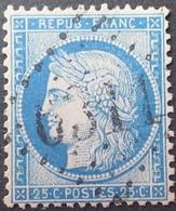 DF40266/876 - CERES N°60B - LUXE - GC 6311 : LE HAVRE-PORT (Seine Inférieure) INDICE 3 - 1871-1875 Cérès