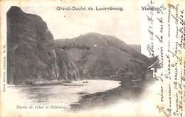 Vianden - Partie De L'Our Et Bildchen (Charles Bernhoeft 1905) - Vianden