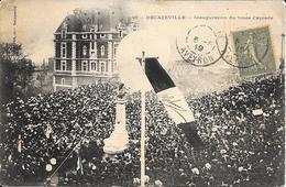 Decazeville - Inauguration Du Buste Cayrade    - Beau Plan Animé  -  Circulé - Decazeville