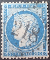 DF40266/877 - CERES N°60C - LUXE - GC 218 : AUDRUICQ (Pas De Calais) INDICE 4 - 1871-1875 Cérès