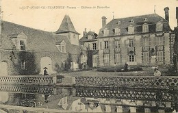 - Yonne -ref-A405- Saint Aubin Chateauneuf - St Aubin Chateauneuf - Chateau De Fourolles - Chateaux - - France