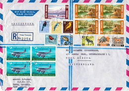 Postal History Cover. Kenya Uganda And Tanzania R Cover With Multiple Stamps - Kenya, Uganda & Tanzania