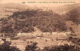 Vianden - Les Ruines Du Château (vue Prise Du Nord) (PIB) - Vianden