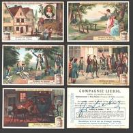 Liebig - Vintage Chromos - Series Of 6 / Série Complète - Frédéric De Schiller - En Français - Liebig