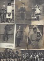 Lot De + De 200 Cartes Postales - Photographies Anciennes (soldats, Enfants, Familles... Voir échantillon) - Photographie