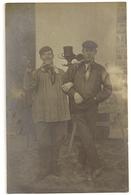 S7912 - 2 Liégeois (?) - Vêtements Typiques- Sarrau - Foulard à Pois - Photographs