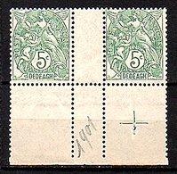 Dedeagh Greece 1902 Gutter Pair MNH Very Fine Très Bon (416) - Altri