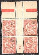 Dedeagh Greece 1902 2 Gutter Pairs MNH Very Fine Très Bon (416) - Altri