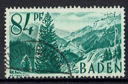 Baden 1947 // Mi. 12 O - Zone Française