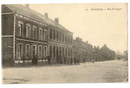 "22 - 13 - Stavele - Rue Du Cygne ""guerre 1914-1918"" - Alveringem"