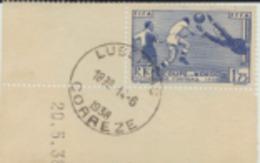 N° Yt 396  3 ème COUPE DU MONDE DE FOOTBALL PARIS COIN DATE - France