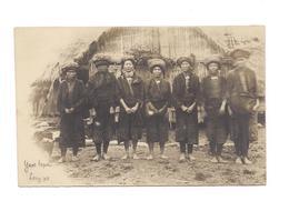 CARTE PHOTO ASIE - YAOS TAPAU - LONG PO - GROUPE DE FEMMES - - Laos