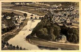 Echternach - Vue Prise De L'Ernzerberg (1958, Colorisée) - Echternach