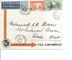 Indochine ( Lettre Par Avion De 1931 De Saigon Vers Paris à Voir) - Indochine (1889-1945)