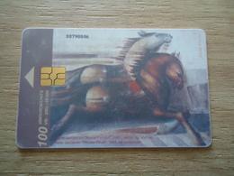 MACEDONIA   USED CARDS ART PAINTING - Macedonia