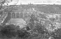 Luxemburg - Plateau Altmünster (animée) - Luxemburg - Stad
