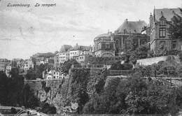Luxemburg - Le Rempart (Edit. Nic. Haries 1924) - Luxemburg - Stad