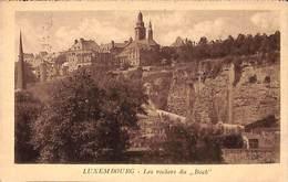 Luxemburg - Les Rochers Du Bock (C Schoren 1925) - Luxemburg - Stad