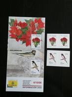 ESPANA 2006 - SPAIN - FLORA Y FAUNA - FLOR DE PASCUA GOLONDRINA - 2001-10 Unused Stamps