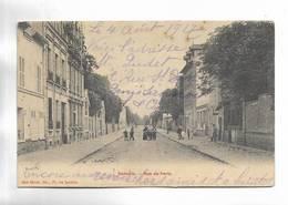 95 - SANNOIS - Rue De Paris. Petite Animation. - Sannois