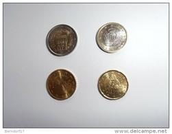 SAN MARINO - 2 € - 1€ - 0,50 E 0,20 CENT. 2002 - MONETE DA ROTOLINO - San Marino
