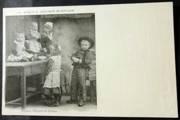 CPA 29 QUIMPER - Des Enfants Autour Du Chaudron De Bouillie - Villard 1178 Précurseur - Réf. E 57 - Quimper