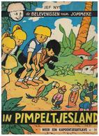 De BELEVENISSEN Van   JOMMEKE  JEF NYS  IN PIMPELTJESLAND  * 32 - Jommeke