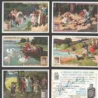 Liebig - Vintage Chromos - Series Of 6 / Série Complète - Plaisirs D'été - En Français - Liebig