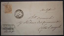 ANNULLI NUMERALI ABRUZZO: NUMERALE CASTELLAMMARE ADRIATICO Teramo - 1861-78 Vittorio Emanuele II