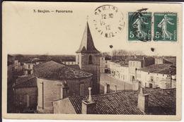 CHARENTE-MARITIME - SAUJON - Panorama - Saujon