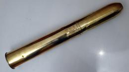 Obus / Boite à Mitraille De 75mm Française - Inerte - Voir Photos Et Description - 1914-18