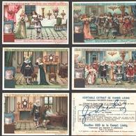 Liebig - Vintage Chromos - Series Of 6 / Série Complète - La Traviata - Opéra De Verdi - En Français - Liebig
