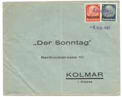 SK503 - LAGARDE - 8 Aug 1941 - LAGARDE - Moselle - - Alsace Lorraine