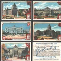 Liebig - Vintage Chromos - Series Of 6 / Série Complète - Palais De Justice - En Français - Liebig