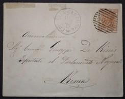 ANNULLI NUMERALI ABRUZZO: NUMERALE CIVITELLA CASANOVA Teramo - 1861-78 Vittorio Emanuele II