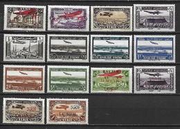 SYRIE Et Mandats Français En Syrie (Alaouites, Alexandrette, Lattaquié) - 1926 à 1940 14 Timbres ** (MNH) - Cote YT : 25 - Syrie (1919-1945)