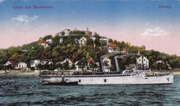 AK Gruss Aus Blankenese - Dampfer - 1924  (45452) - Blankenese