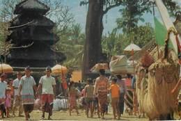 BALI - Temple Festival On The Isle Of Sakenan - Indonesia