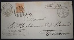 ANNULLI NUMERALI ABRUZZO: NUMERALE CIVITELLA DEL TRONTO Teramo - 1861-78 Vittorio Emanuele II