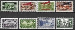 GRAND LIBAN 1926-1940 Lot De 8 Bons Timbres Poste Aérien Taxe ** (MNH) - Cote YT  : 12 Euros - Neufs