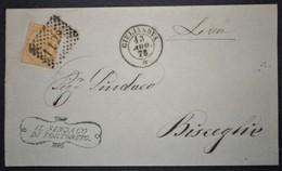 ANNULLI NUMERALI ABRUZZO: NUMERALE GIULIANOVA Teramo Da Tortoreto - 1861-78 Vittorio Emanuele II
