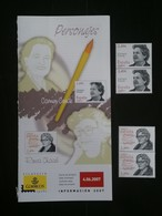 ESPANA 2007 - SPAIN - PERSONAJES - CARMEN CONDE ROSA CHACEL - 2001-10 Unused Stamps