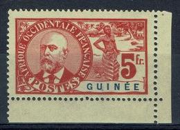 French Guinea, 5f., Noël Ballay, 1906, MH VF, A Very Nice Stamp!!! - Guinée Française (1892-1944)