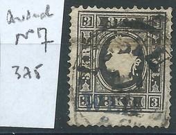 AUTRICHE : N°7.  Cote 375 €. - 1850-1918 Empire