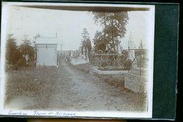 ETAVES PHOTO CIMETIERE    1900 - Frankreich