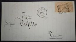 ANNULLI NUMERALI ABRUZZO: NUMERALE MONTORIO Teramo - 1861-78 Vittorio Emanuele II