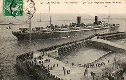LE PROVENCE  AU HAVRE - Steamers